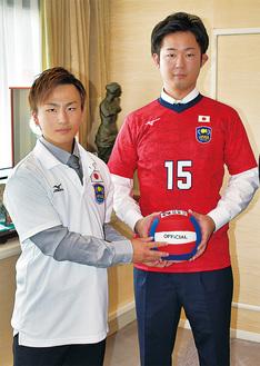小林さん(左)と渡邊選手