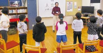 CAPプログラムを受ける子どもたち