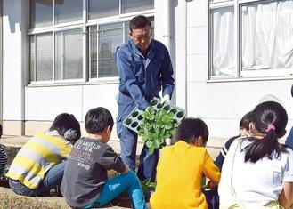 プロによる栽培指導も実施