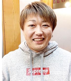 聖火ランナーに選ばれた大澤さん
