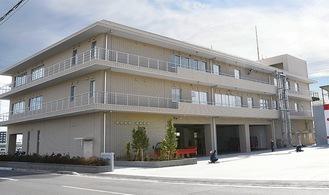 綾瀬市消防本部の新庁舎