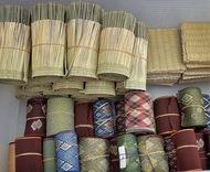 畳の端材を配布