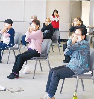 綾瀬市が11月に実施した元気シニア体験教室