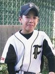 小学6年生の藤井投手当時の背番号は3番