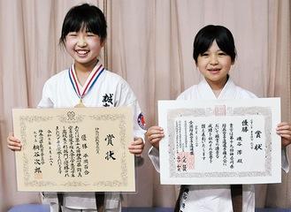 平岡さん(左)と磯谷さん