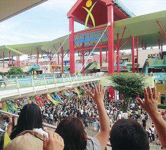 文化祭が行われるビナウォーク(写真は過去イベント実施時・提供)