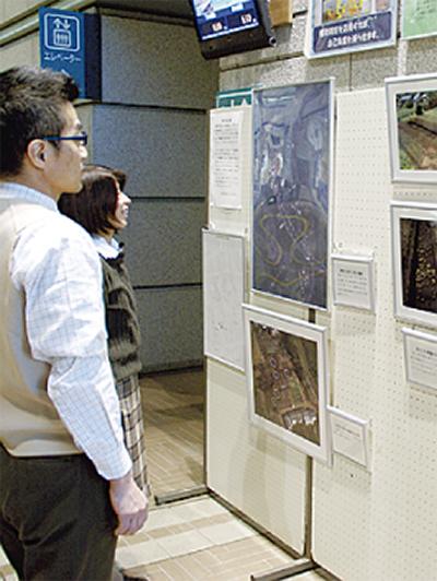 神崎遺跡の写真展