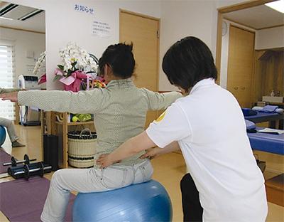運動する整骨院