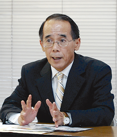 内野氏が再選出馬表明