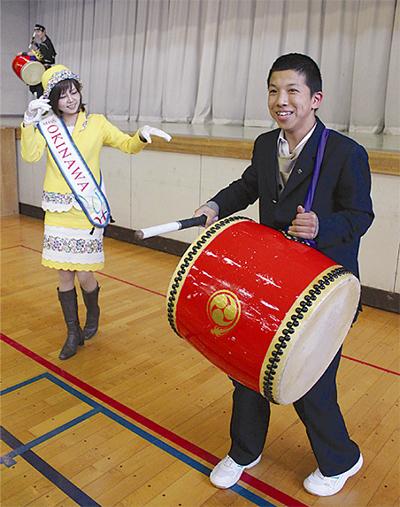 沖縄から表彰受ける