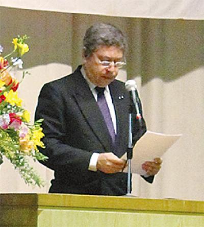 ペルー総領事が祝辞