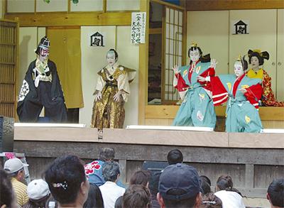 子ども歌舞伎上演