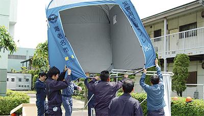 迅速な避難所開設を