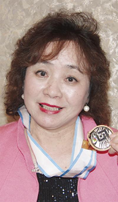 上郷の主婦が銀メダル
