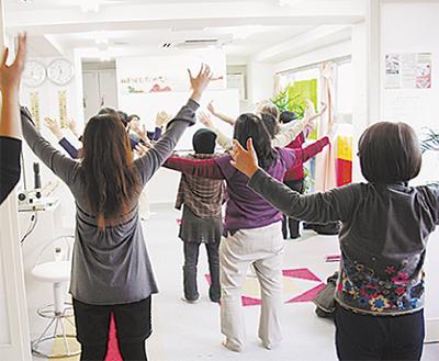 気功教室と手技療法で体質改善