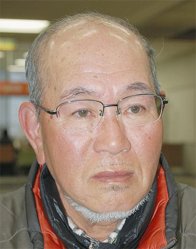 石田(いしだ)弥寿雄(やすお)さん