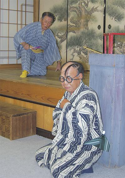 市内唯一の農村歌舞伎