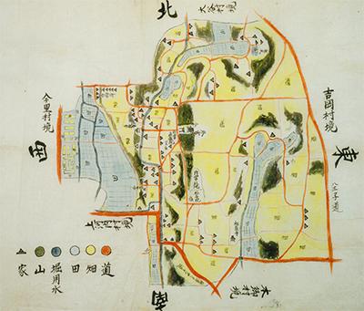 絵図で見る江戸の海老名
