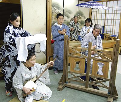 市内唯一の農村歌舞伎奉納
