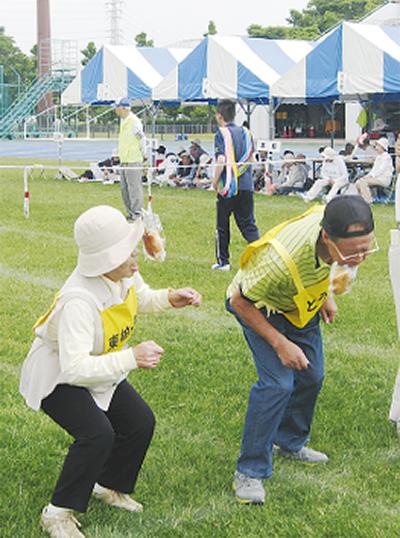 シニア世代の運動会