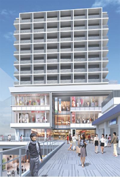 新複合ビル10月に開設