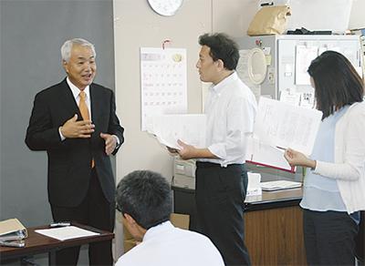 前教育長・瀬戸氏、出馬へ