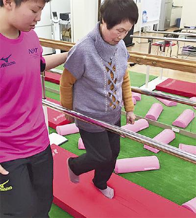 歩行機能トレーニングに特化