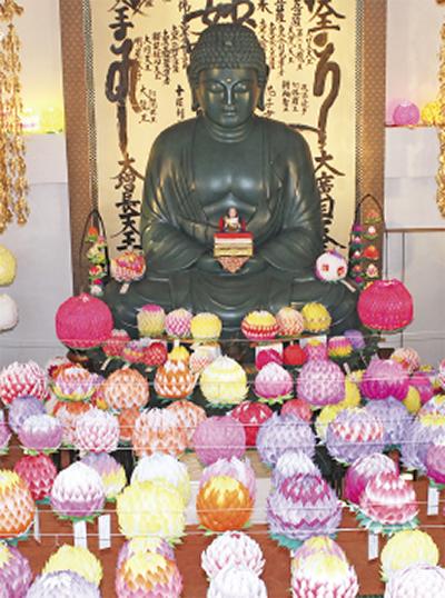 妙常寺で花まつり