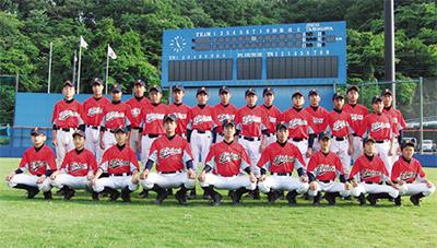 中学硬式野球チーム誕生