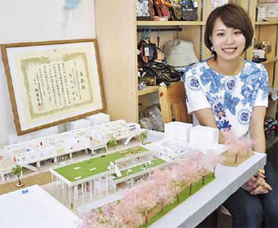 綾西バザールの模型製作