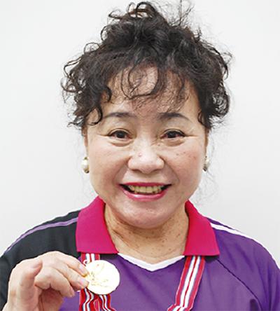 奥村さん(上郷)が県優勝