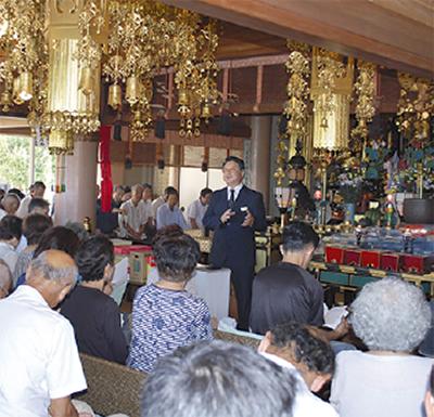 葬儀を寺で学ぶ
