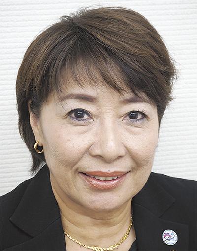 岡 佐惠子さん
