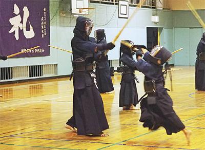 大谷剣友会が40周年