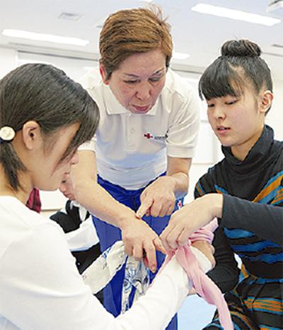 救急法を学ぶ