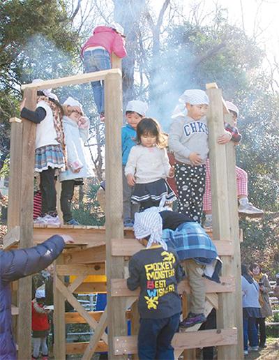 みのり幼稚園で作品展開催