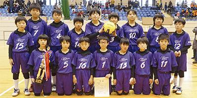 中新田ファイヤーズが準優勝