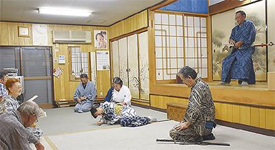 大谷歌舞伎の奉納公演