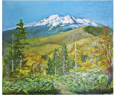 風景画の油絵個展