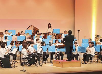 ハーモニーを奏でる団員たち(昨年の様子)