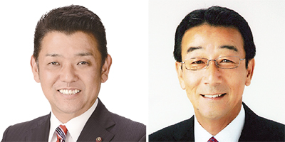 倉橋氏(右)と宇田川氏