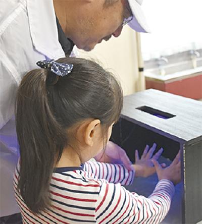 手洗い教室を初実施