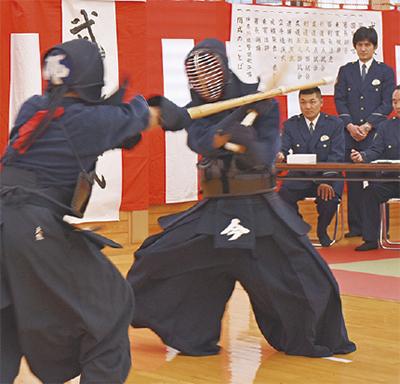海老名署で武道始式