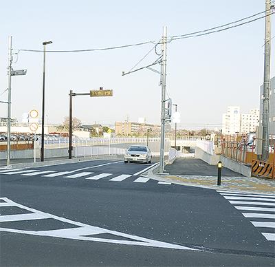 53号線バイパスが開通 渋滞の解消に期待