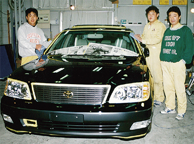 車磨きの技術、磨き続ける