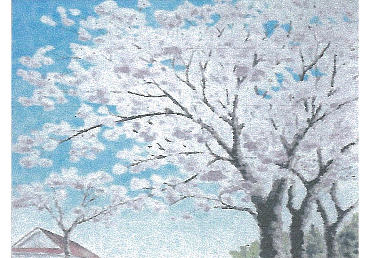 山ゆりの会が水彩画展