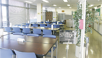 かながわ県民センター15階のフリースペース