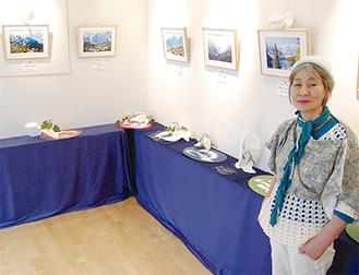 「花の生命力や写真の構成に注目して」と中川オーナー
