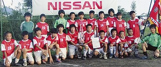 24チームの頂点に輝いた小松原サッカークラブ