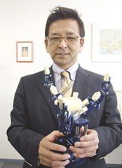 大賞受賞作を持つ和田代表取締役
